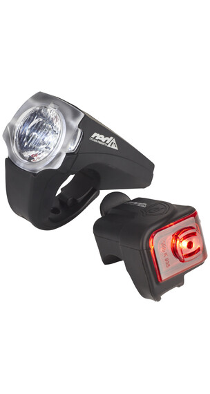 Red Cycling Products PRO 20 Lux Urban LED Beleuchtungsset schwarz